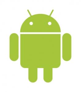 Der kleine grüne Roboter ist das Maskottchen von Android.