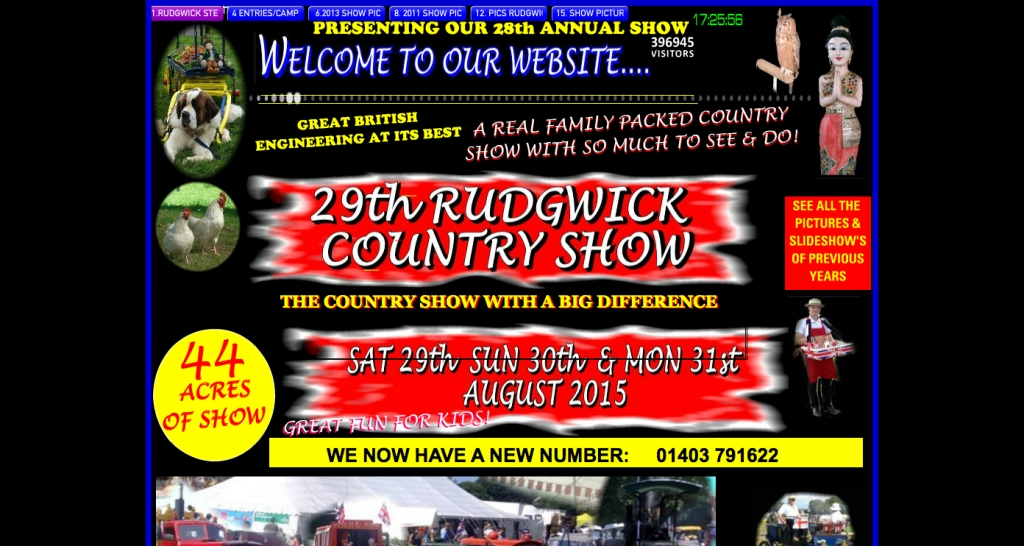 RUDGWICKSTEAMSHOW