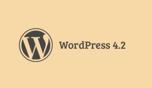 WordPress 4.2 jetzt verfügbar
